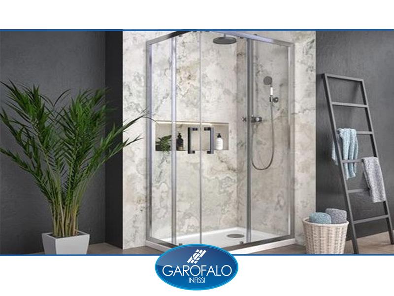 box doccia alluminio garofalo infissi
